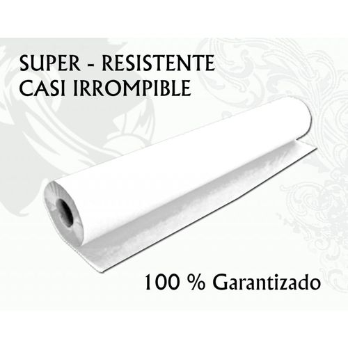 Rollo papel camilla IRROMPIBLE Blanco